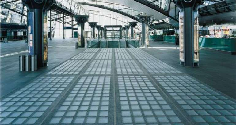 The Ezylay Glass Block Paving Installation System Glass